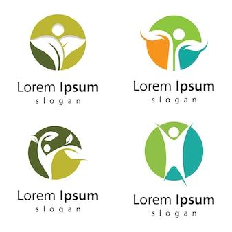 Natuur leven logo afbeeldingen afbeelding ontwerp