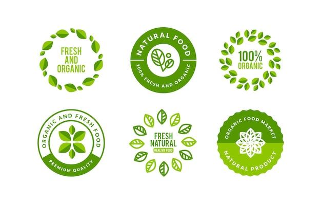 Natuur logo decorontwerp