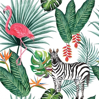 Natuur patroon ontwerp