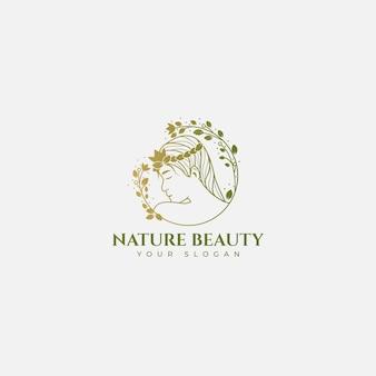 Natuur schoonheid logo
