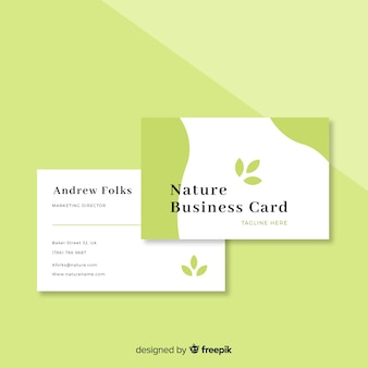 Natuur visitekaartje