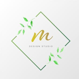 Natuurlijk logo-ontwerp voor branding en huisstijl
