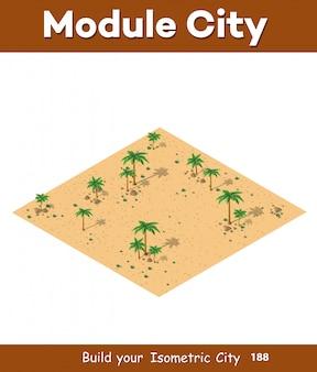 Natuurlijk woestijnlandschap