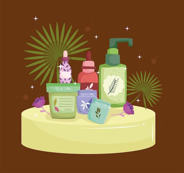 Natuurlijke huidverzorgingsproducten