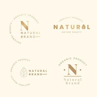 Natuurlijke logosets