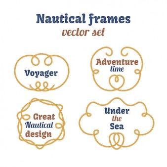 Nautische frames inzameling