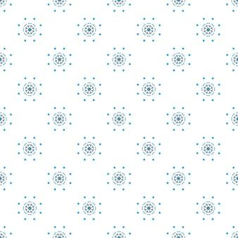 Nautische stuurwiel abstract naadloos patroon. ontwerp van verpakkingspapier om op stof te bedrukken.