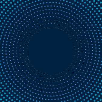 Navy gradient halftone achtergrond vector