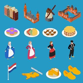 Nederland toeristische pictogrammen