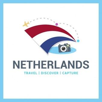Nederland travel symbol