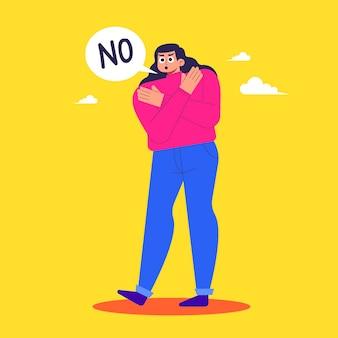 Nee betekent geen concept
