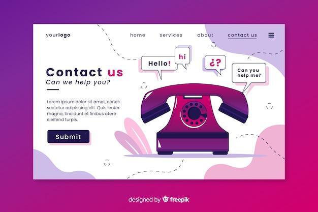 Neem contact met ons op de bestemmingspagina voor bedrijven