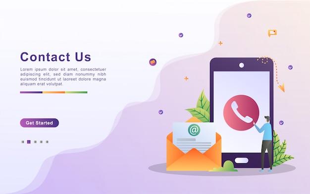 Neem contact op met ons concept.