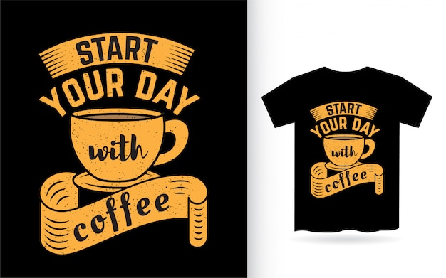 Neem de tijd om belettering van ontwerp voor t-shirt te ontspannen