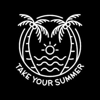 Neem je zomer