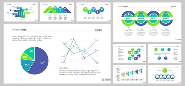 Negen research slide templates set