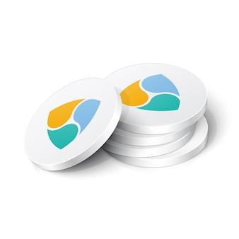 Nem-cryptocurrency-tokens