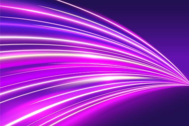 Neon achtergrondfontein van lichten