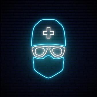 Neon dokter teken