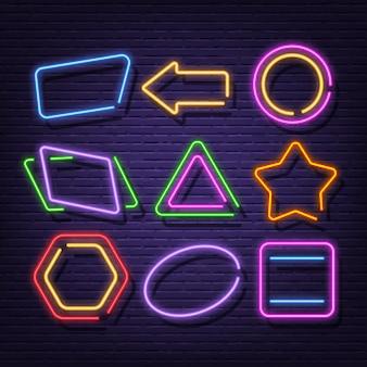 Neon frame collectie neon uithangbord