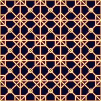 Neon laser lijnen naadloos patroon