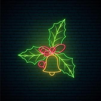 Neon maretak teken.