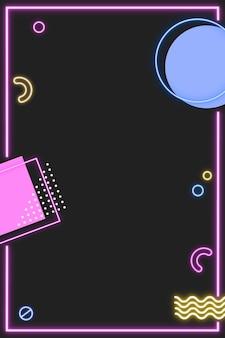 Neon memphis pinterest-bericht