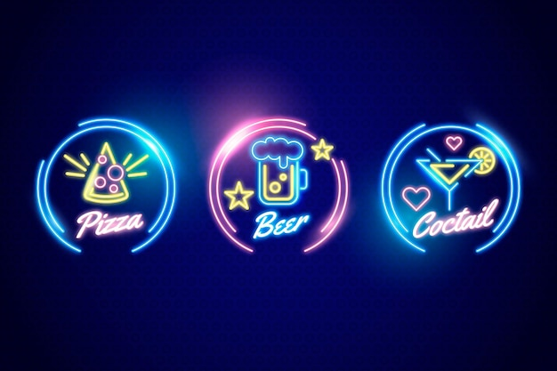 Neon pub en restaurant uithangbord collectie