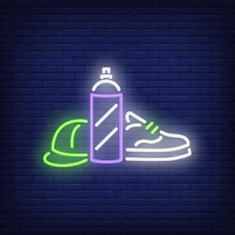 Neon teken spuitpistool