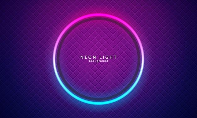 Neonlicht achtergrondkleur