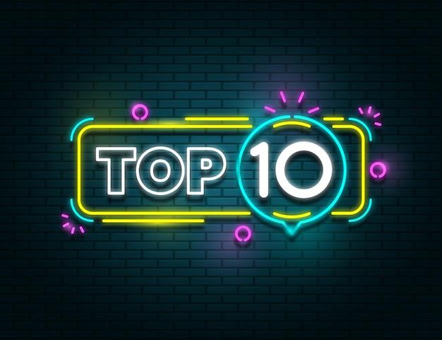 Neonlichten top 10