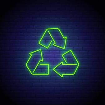 Neonreclame recyclen