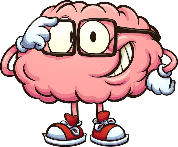 Nerdy hersenen