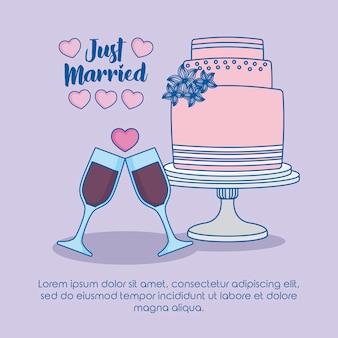 Net getrouwd ontwerp