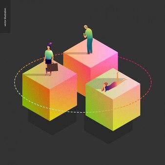 Netwerk concept