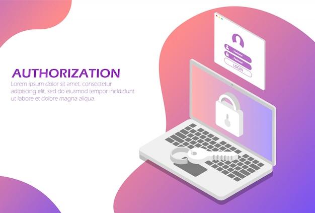 Netwerkautorisatie, identificatiesysteem.