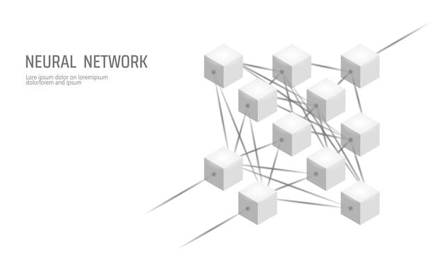 Neuraal netwerk, neuron netwerk, diepgaand leren, cognitieve technologie