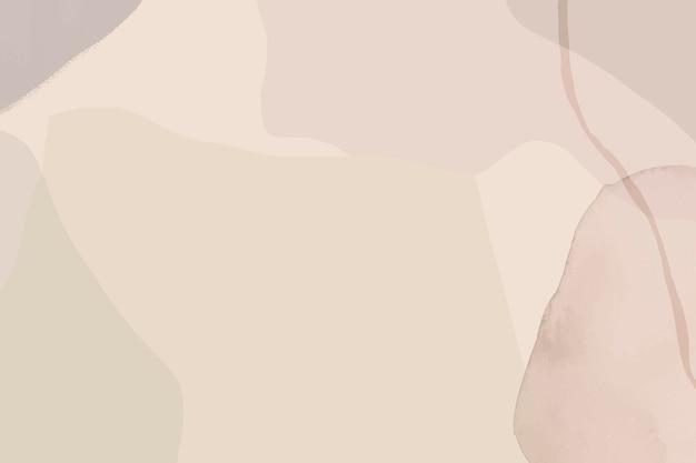 Neutrale zachte abstracte aquarel achtergrond