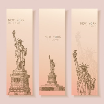 New york banners collectie
