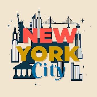New york city belettering
