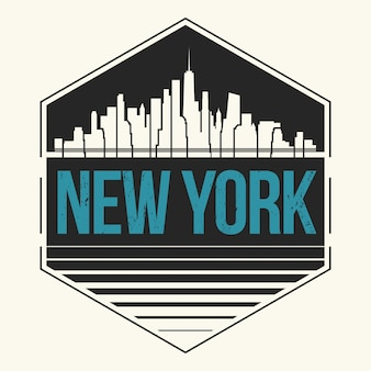 New york city label