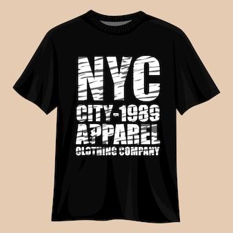 New york city vector t-shirt ontwerp
