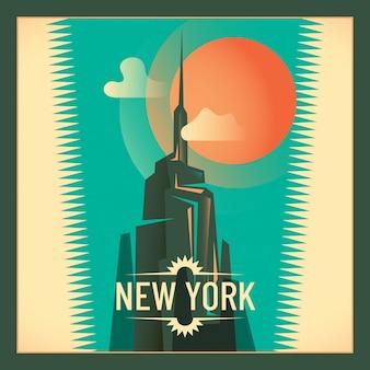 New york illustratie