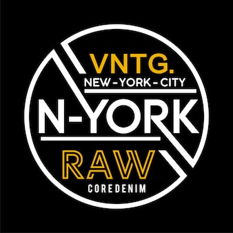 New york labelsjabloon