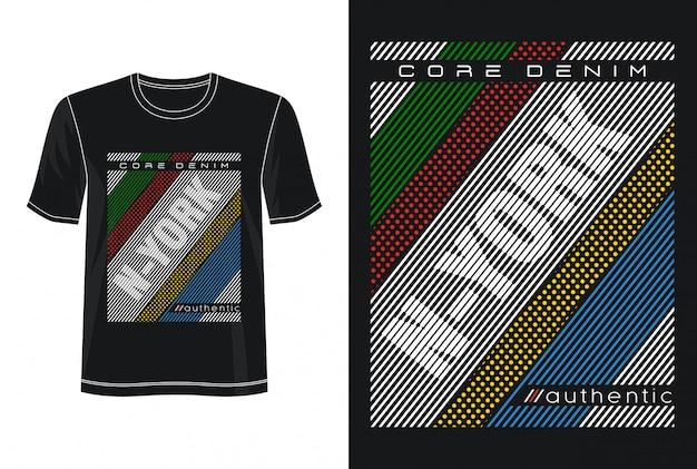New york typografie design t-shirt
