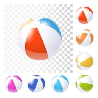 Nfblaasbare strandballen