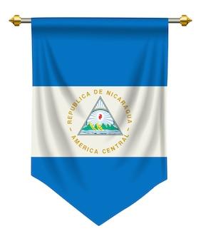 Nicaragua wimpel