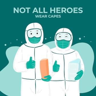 Niet alle helden dragen capes-letters