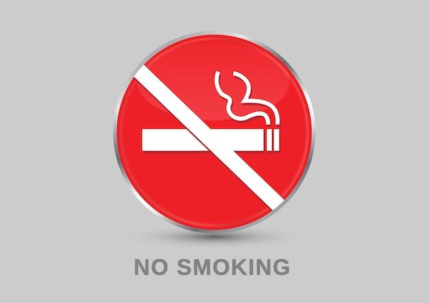 Niet roken bord etiketten niet roken stickers