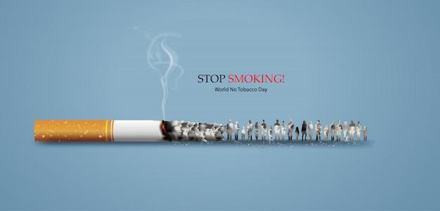 Niet roken en werelddag zonder tabak